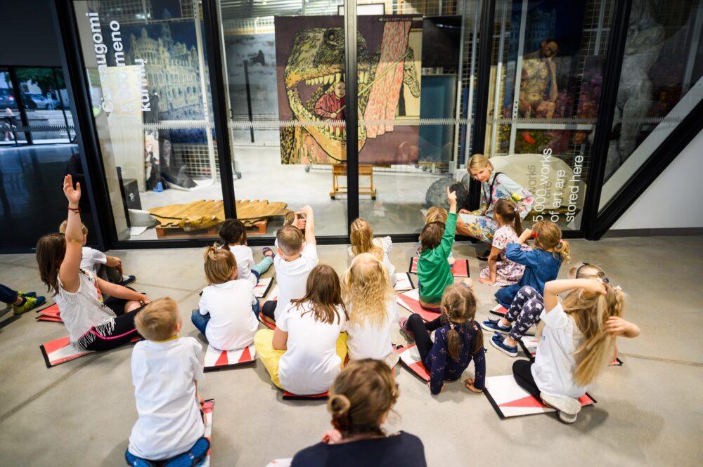 MO muziejus | Vaikų stovyklos | Užsiėmimai vaikams
