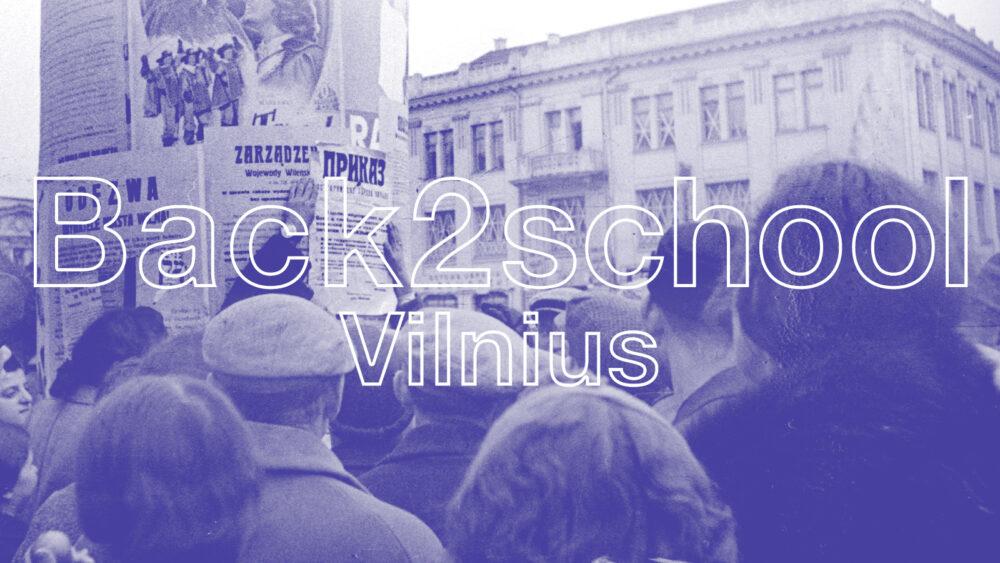 Back2school | su Ričardu Jankausku | Sunkus amžius | Vilnius | MO muziejus