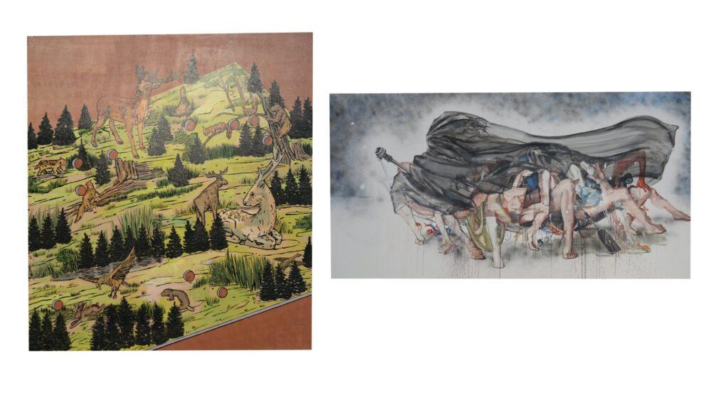 Monikos Furmanos ir Jolantos Kyzikaitės tapyba| MO muziejus | MO Museum