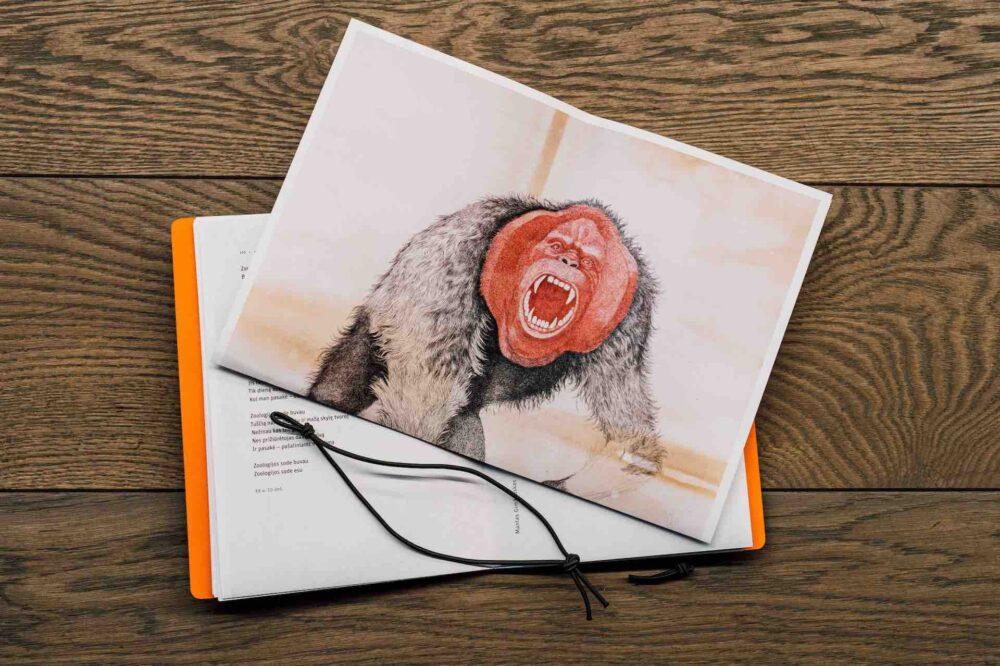 """Poezijos knygos """"Gyvūnas, kuris vadinuosi (n)esu"""" pristatymas   Parodos   MO muziejus"""