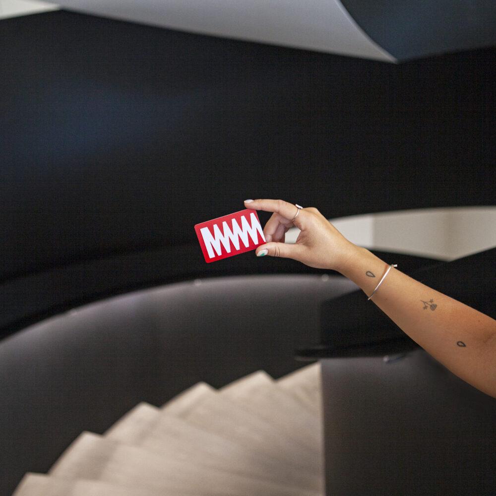 MOdernist membership card   MO museum