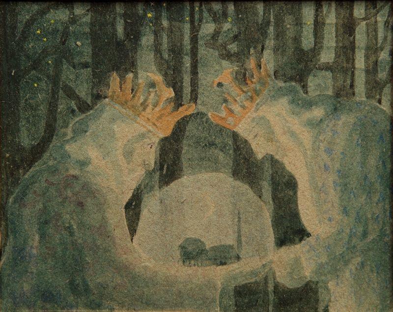 Mikalojus Konstantinas Čiurlionis | Karalių pasaka | 1909