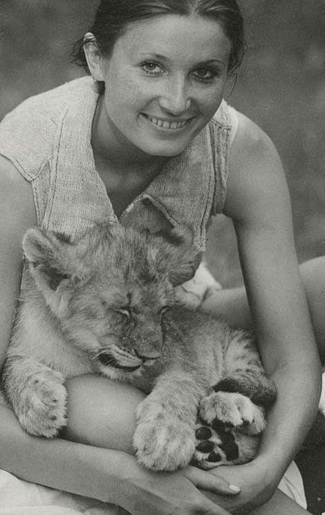 Tania su liūtuku | Simba | Vito Luckaus nuotrauka