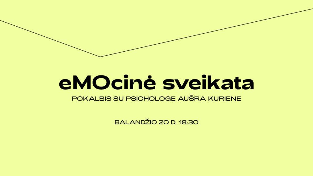 Facebook Live | eMOcinė sveikata | MO muziejus