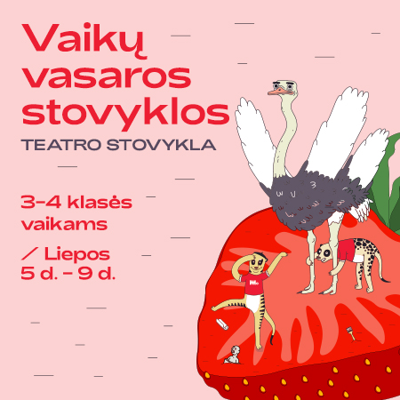 MO vasaros vaikų stovyklos | Teatro stovykla | 3-4 kl.