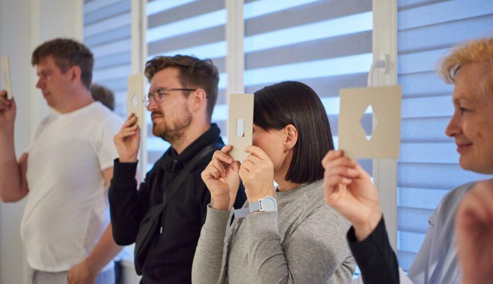 MO muziejus | Užsiėmimai suaugusiesiems | Vizualinio mąstymo strategija